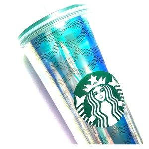 Brand new holographic mermaid Starbucks tumblr